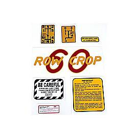Oliver 60 Rowcrop: Mylar Decal Set