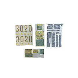 Vinyl Cut Decal Set 3020 Gas, Diesel