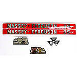 MF 35: Mylar Decal Hood Set Only