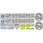 IH Super W6 1952-54: Mylar Decal Set