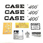 Case 400 Script: Mylar Decal Set