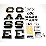 Case 600 Script: Mylar Decal Set
