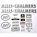 AC D17 Diesel: Mylar Decal Set
