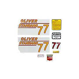 Oliver 77 Standard: Mylar Decal Set
