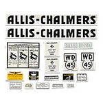 AC WD45 Diesel: Mylar Decal Set