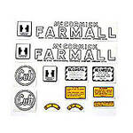 MC D Early Circle Cub to July 1947: Mylar Decal Set