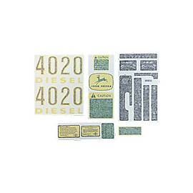 JD 4020 complete vinyl cut decal set