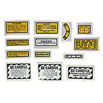 13 Piece Mylar Miscellaneous Decal Set (IH 300 Gas)