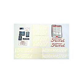 Ford 601 Series 1958-62:  20 Piece Mylar Decal Set