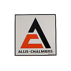Allis Chalmers Square Decal