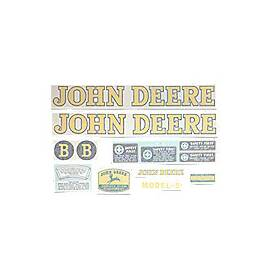 JD B 1939-46, Vinyl Cut Decal Set