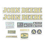JD A 1939-46, Vinyl Cut Decal Set