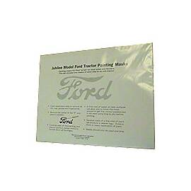 Ford Script Painting Mask Kit (for - fenders and hoods)