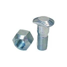 Front Wheel Stud And Nut Assembly