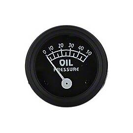 Oil Pressure Gauge (0-50 PSI)