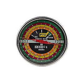 IH black face Tachometer For IH 706, 806 & many others