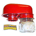 Donaldson Pre-Cleaner Assembly With Glass Dust Jar