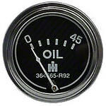 Oil Pressure Gauge (0-45 PSI) - Engine mounted