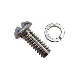 Round Head Screw and Washer for hood dog legs