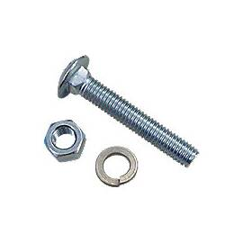 Rear Wheel  Weight Nut And Washer Carriage Bolt Kit (3 Pcs)