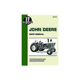 """John Deere Shop Manual"" -- I&T Shop Manual Collection"