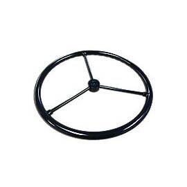 Steering Wheel-- Fits JD 2 Cylinder Models With 3 Bare Steel Spokes