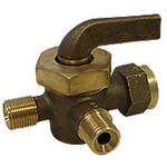 3 Way Fuel Valve -- Fits John Deere A, B, D, GP