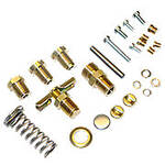 Single Induction `Late` Carburetor Hardware Kit, No Jets Or Nozzles Included