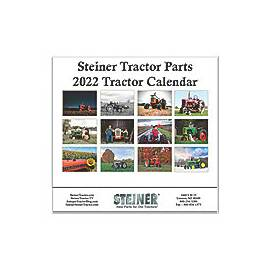 6th Annual Steiner Tractor Parts Calendar - 2020 Edition