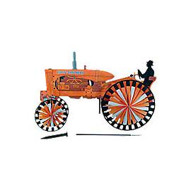 Allis Chalmers Tractor Spinner (Yard Ornament)