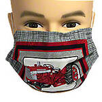 Farmall Tractor Pleated Tractor Mask