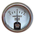 Restoration Quality Ammeter (Stainless Steel Bezel)
