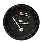 Oil Pressure Gauge (0-30 PSI) - engine mounted