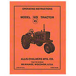Operators Manual Reprint: AC WD45