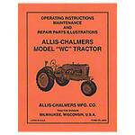 Operators Manual Reprint: AC WC (1939)