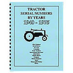 Tractor Serial Numbers (1940-1975)