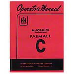 Operators Manual: Farmall C