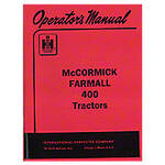 Operators Manual: Farmall 400