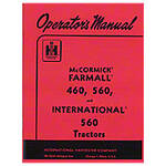 Operators Manual: Farmall 560 Gas