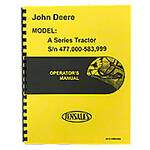 Operators Manual: Styled JD A (Up To SN 583999)
