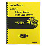 Operators Manual: Styled JD A (SN 584000 - 647999)