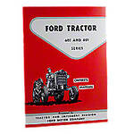 Operator Manual Reprint: Ford 601 & 801 series