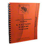 Allis Chalmers B, C, IB Tractors, B-125 Power Unit, Parts Manual