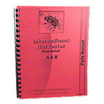 International Harvester Farmall A, AV, Super A Culti-Vision, B, BN Tractors, Parts Manual