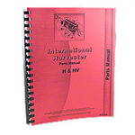 International H,HV Parts Manual