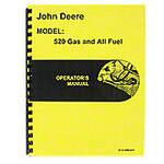 Operators Manual Reprint: JD 520 Gas & All Fuel