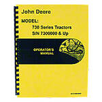 Operators Manual Reprint: JD 730 Gas