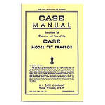 Operators Manual Reprint: Case L