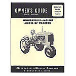 Operators Manual Reprint: Minneapolis Moline BF