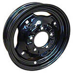 3 x 12, (5 lug) Front Wheel with wheel weight holes